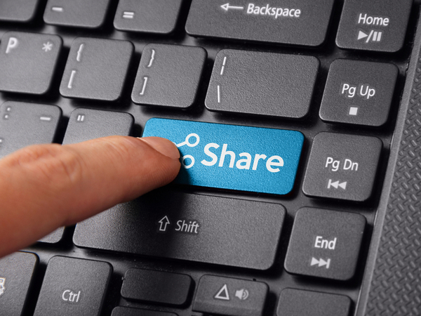 Electronic sharing of documentation