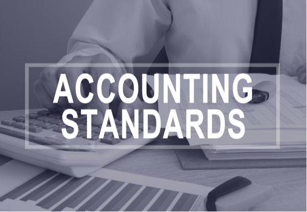 Accounting standards concept